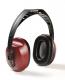 Mušlové chrániče sluchu Hellberg EH8 upevnění přes temeno fialovo/černé