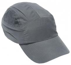 Náhradní potah na čepici se skořepinou FBC+ standardní délka kšiltu šedá