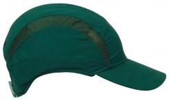 Čepice se skořepinou PROTECTOR FB3 standardní délka kšiltu zelená