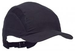 Čepice se skořepinou PROTECTOR FB3 CLASIC zkrácený kšilt černá
