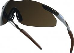 Brýle THUNDER BRONZE nemlživé nárazuvzdorné šedo/hnědé tónované