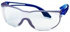 Brýle UVEX SKYLITE Supravision Sapphire straničky modré nepoškrábatelný zorník čirý