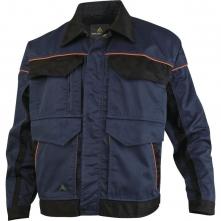 Montérková blůza DELTA Mach Corporate košilový límec kontrastní obšívání tmavě modro/černá