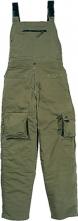 Montérkové kalhoty DELTA PLUS MACH 2 LITE PES/BA lehké s laclem khaki