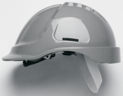 Ochranná průmyslová přilba PROTECTOR STYLE 600 ABS šedá